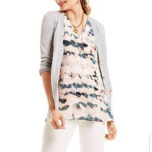 Cabi layered tunic tank top blouse 5035 sz S